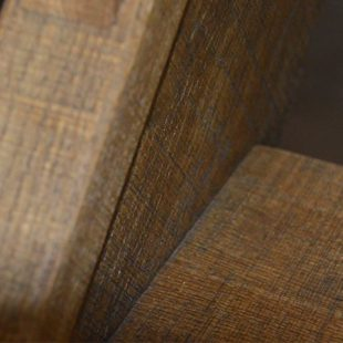Detail houten trap