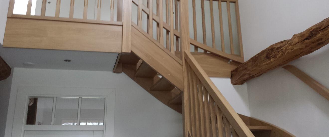 Bovenkwart trap op maat