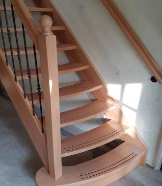 Scheluw trap