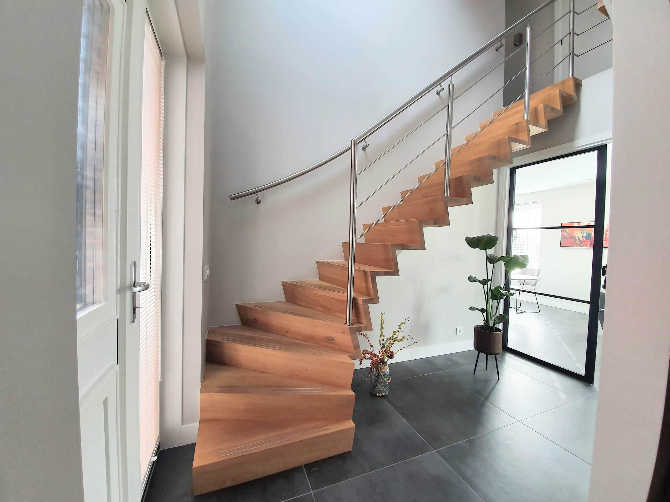 Onderkwart z-trappen